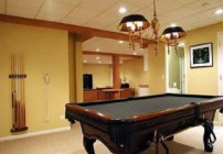Information about installing acoustic ceiling tiles in your basement for your Dayton, Ohio home remodeling project.