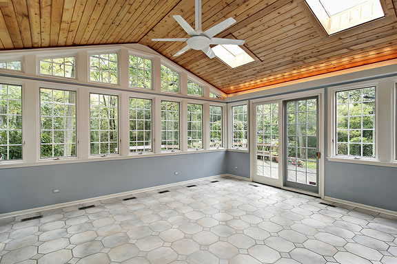Custom Sunrooms and Porches in Dayton, Ohio.