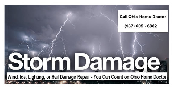 Storm Damage Repair in Dayton Ohio