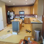 Kitchen Before Tile Dayton Ohio