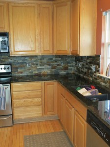 Backsplash Finished Picture