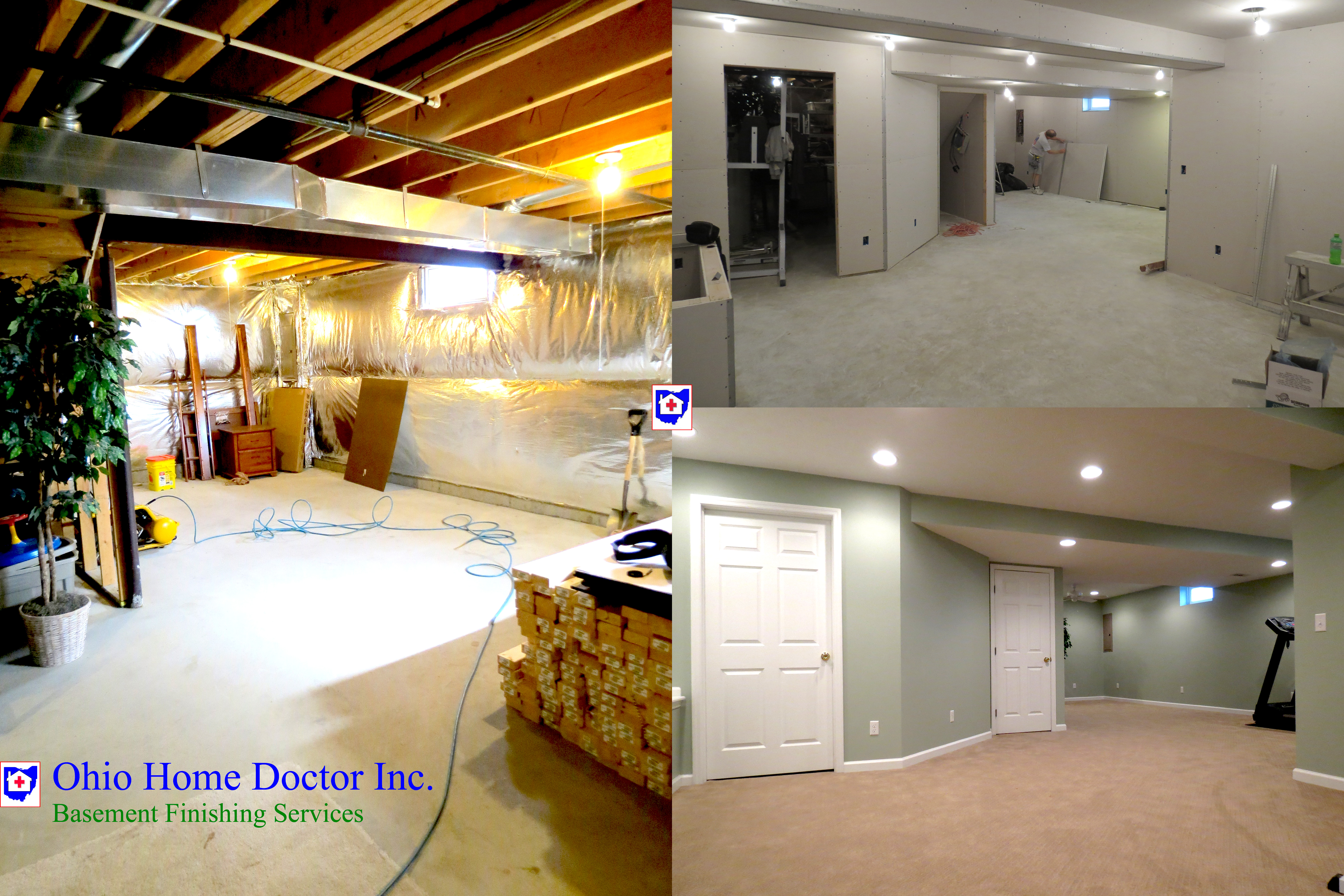 Basement Finishing Cincinnati Detailed Services And Costs - Basement doctor