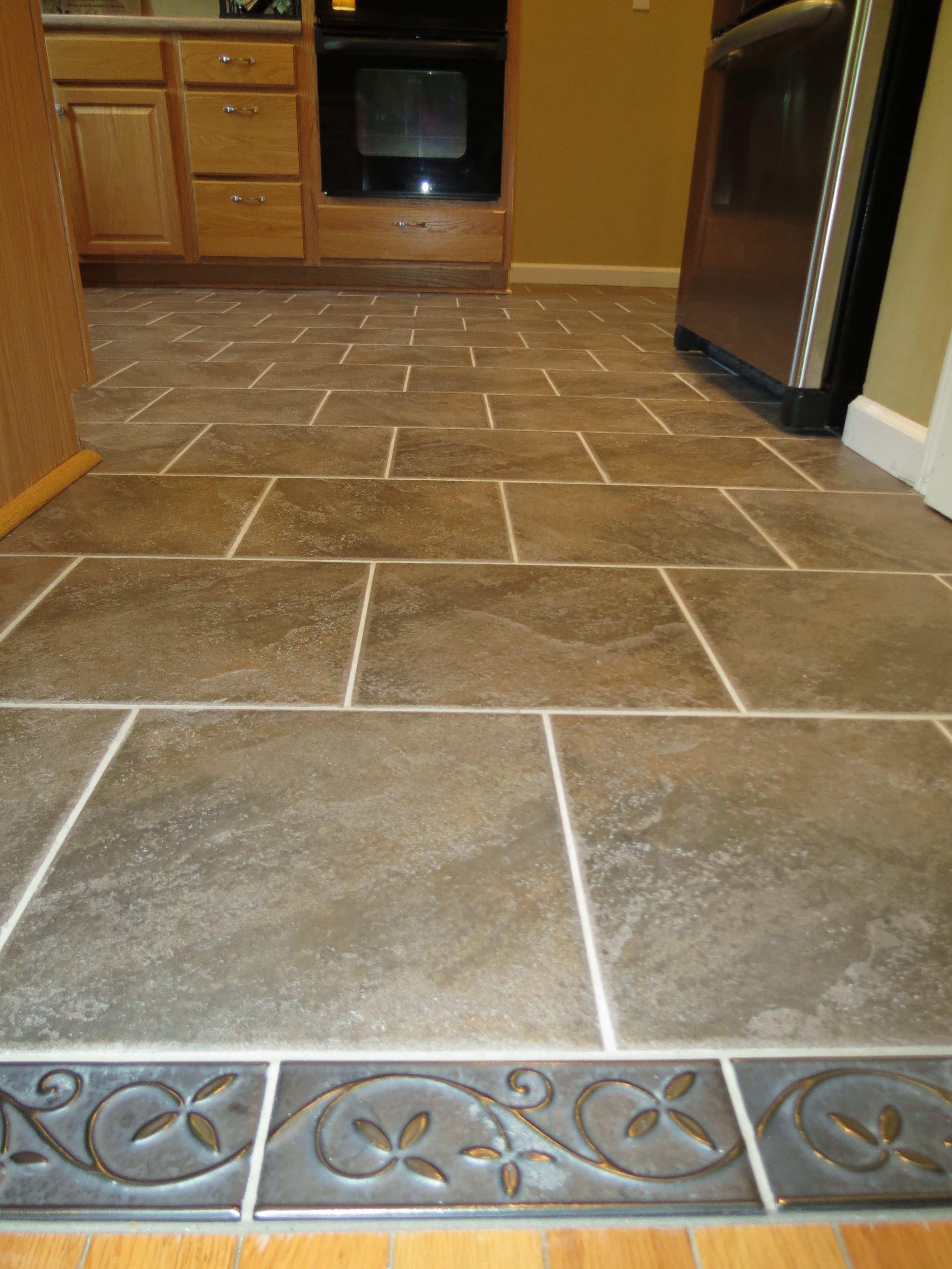 Custom Kitchen Tile by Ohio Home Doctor
