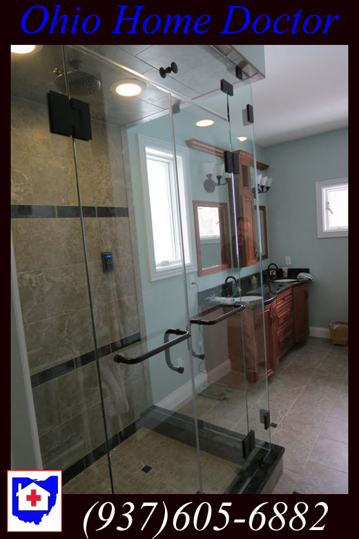 Bathroom Built by Ohio Home Doctor