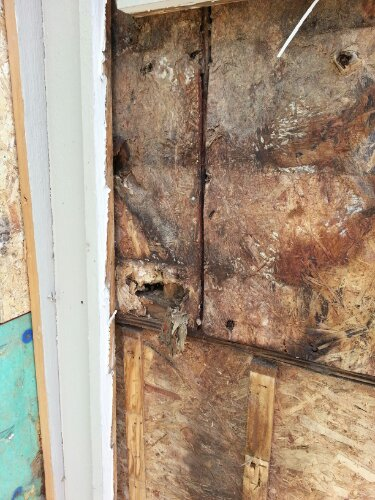 Where Is The Tyvek Wood Osb Lap And Fiber Cement Siding