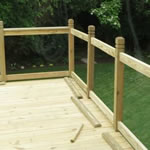 Centerville Wood Deck Builder