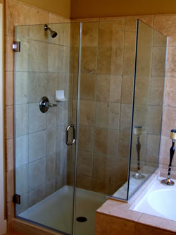 Custom Bathroom Design and Remodeling in Centerville, Ohio.