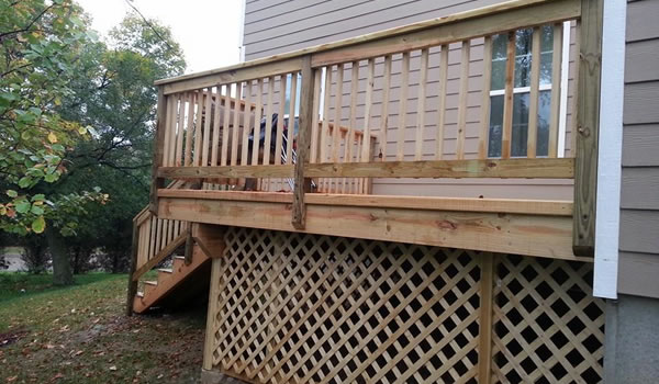 Custom Deck Builder in Cincinnati.