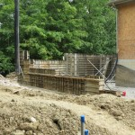 room addition foundation forms