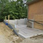 Dayton Addition Foundation Poured