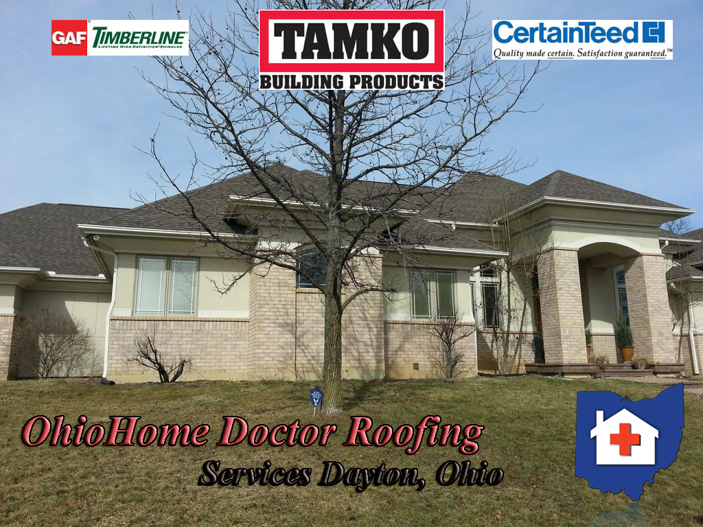 Roof Installed By Ohio Home Doctor In Dayton Ohio