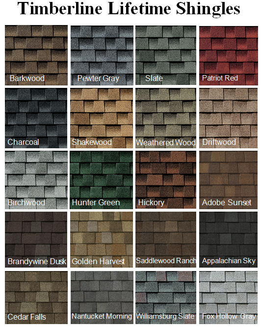 Roofing contractor in dayton ohio the ohio home doctor for What color roof should i get for my house