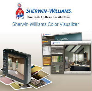 Sherwin Williams Color-Visualization Tool