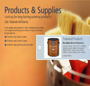 Sherwin Williams Product Page
