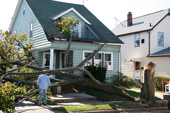 Disaster Cleanup Contractor in Dayton, Ohio.