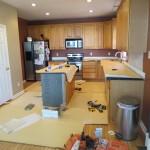 Kitchen Before Tile Dayton Ohio