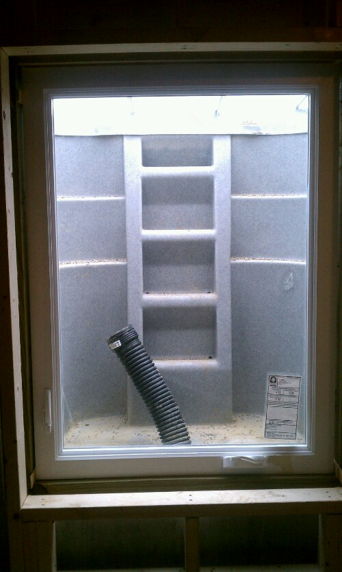 Walk Out Basement And Egress Window Construction In Dayton