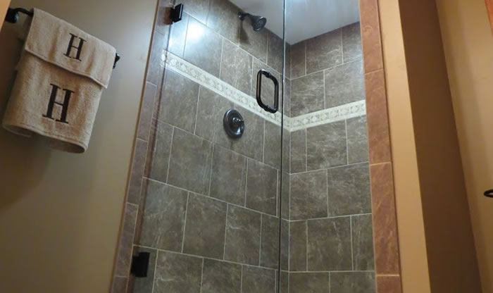 Custom Tile or Stone Showers