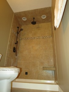 Basement Steam Shower
