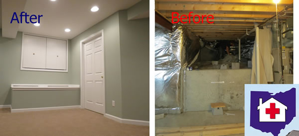 Centerville Ohio Basement Finishing Contractor