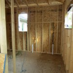 Addition Bathroom Framing