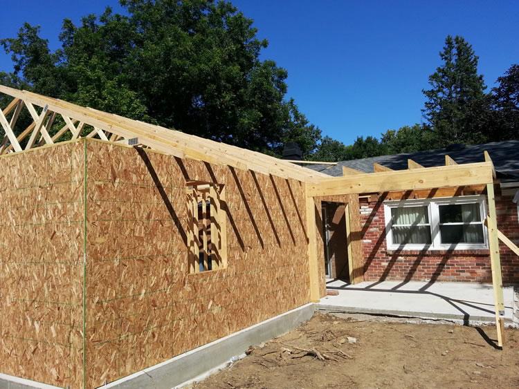 Garage Construction Contractor Dayton Ohio