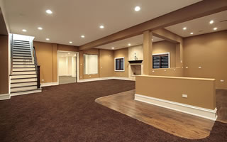 Basement Finishing Contractor Dayton Ohio.